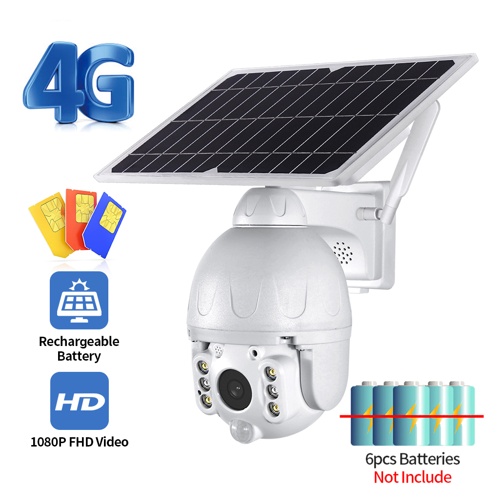 1080P 4G Low Power Solar camera HD Two way audio Voice Intrusion Alarm Solar Panel Cameras Outdoor Monitoring Waterproof Camera|Surveillance Cameras| - AliExpress