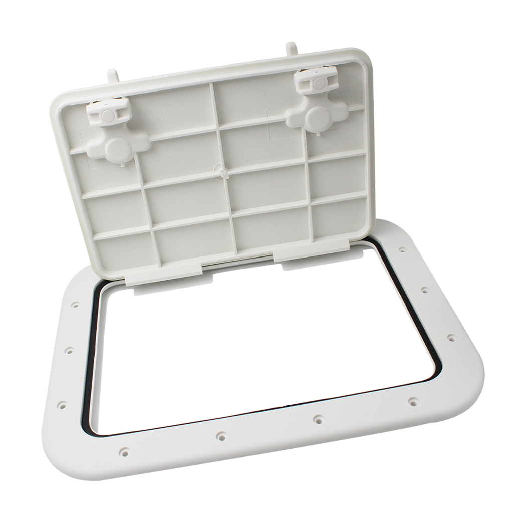 "Marine Boot Dek Plaat Access Hatch Inspectie Hatch Covers16.7 ""X12.4"" X0.8 ""2020"