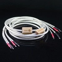 Free shipping 1 pair Odin speaker cable, Odin Supreme Reference loudspeaker cable ,wire with banana plug