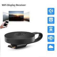 Mirasrceen g2 vara de tv crome elenco dongle 1080p hdmi hdtv wi-fi sem fio visor tv receptor para ios android tv tela de compartilhamento
