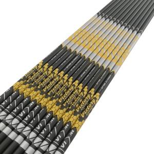 Image 3 - 12 шт., стрелы для стрельбы из лука V1, новые стрелы из чистого углерода, Вал позвоночника 350 900 id4.2мм для рекурсивного лука, охотничьей стрельбы