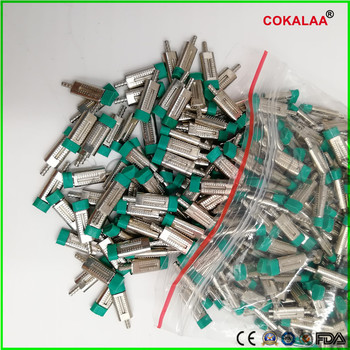1000 pcs Dental Lab Stone Model Work Use Double Twin Master Pins with Sleeves with Pindex Dental Lab Dowel Pin