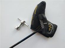 Birdiemake clubes de golfe fastback 1.5 putter tei3 fastback 1.5 taco de golfe 33/34/35 Polegada eixo de aço com cabeça cobertura