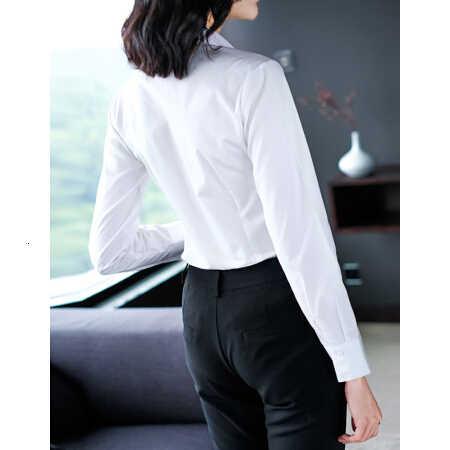 ホワイトカラー Ol インタビュー正しい職業ドレス奥様はコードジャケット白 12v 鉛長袖シャツ増加ダウンブラウス