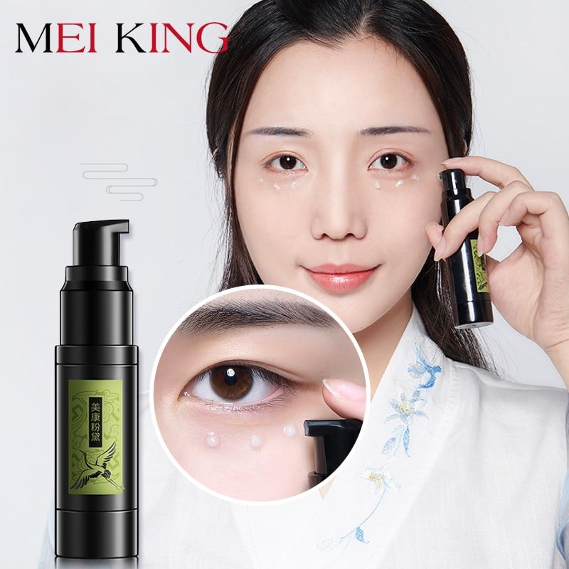 MEIKING Hyaluronic Acid Collagen Crystal Cream Eye Serum Anti-Wrinkle Remover Dark Circle Essence Against Puffiness Moisturizing