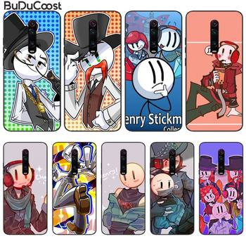 The Henry Stickmin Collection Phone Case For Redmi 6 4X 7 7A 8 GO K20 Note 4 4X 5 5A 6 6 Pro 7 8 8pro image