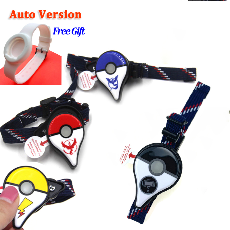 Fast Shipping New Version Auto Catch For Pokemon GO Plus Bluetooth Bracelet Wrist Band Pulseira 2019
