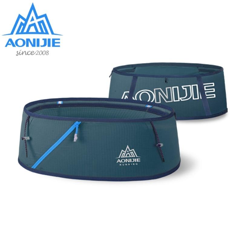 AONIJIE Portable Ultralight Waist Bag Hydration Outdoor Running Belt Waist Pack  Phone Holder W8101 For Running Trailing Hiking