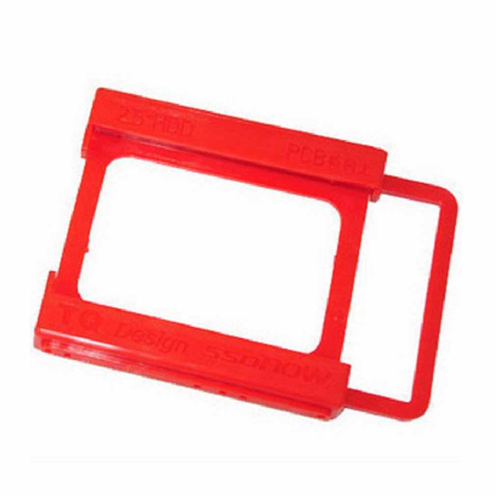 PlasticSSD Tray 2.5 inch to 3.5 inch SSD HDD Adapter Bracket Hard Drive Holder For Desktop PC
