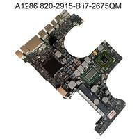 Logic Board for APPLE MACOOK PRO A1286 Motherboard MAINBOARD