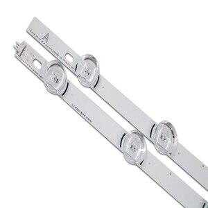"""Image 3 - 100% novo 8 peças (4 * a + 4 * b) barra de luz de fundo led para lg 39 polegada tv 390hvj01 innotek drt 3.0 39 """" a/b typ 4 leds 403mm, peças usadas"""