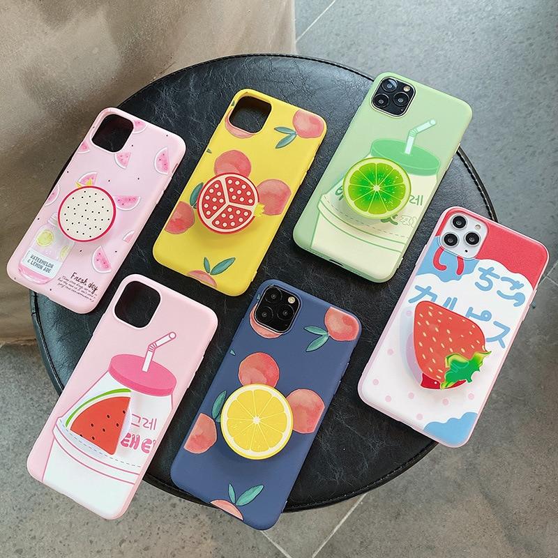 Для iphone 6 6s 7 8 11 pro max xr x s xs чехол TPU силиконовый чехол Coque Fundas Smart Cover мобильный телефон защитный чехол|Специальные чехлы|   | АлиЭкспресс