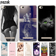 цена на Silicone phone Case For Xiaomi Redmi 4A cases Soft Silicon Painting cover for Redmi 4A Hongmi 4a 5.0