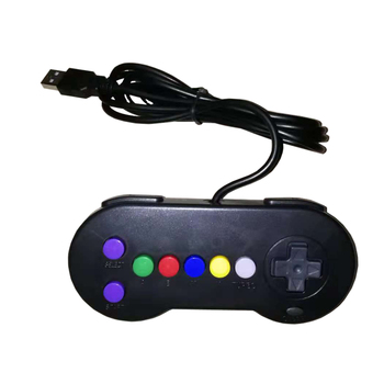 50 pcs Wired Game Controller Gamepad For Nintend for S-F-C for S-N-E-S game console controller