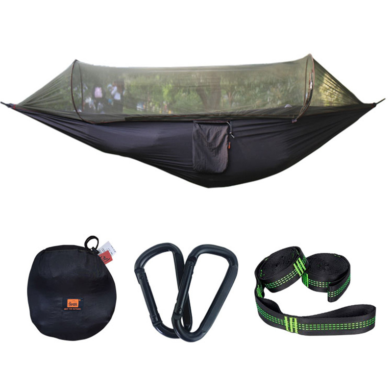 Cross Border Mosquito Net Hammock Patented Parachute Cloth Outdoor Camping Anti-mosquito Swing Air Tent A Combination Small