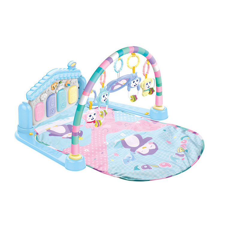 0-1-Year-Old Baby Toys Pedal Piano BABY'S Educational Mobile Emperor Children Infant Fitness Rack Music Early Childhood Educatio