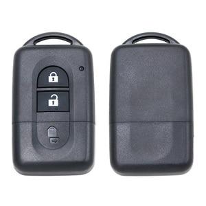 Image 4 - เปลี่ยน Key Case SHELL FOB 2 ปุ่มสำหรับ Nissan Micra X Trail Qashqai Juke Duke Pathfinder Note with uncut Key Blade