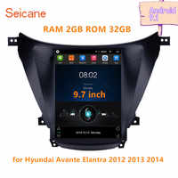 Seicane 9.7 inch Android 9.1 for 2012 2013 2014 Hyundai Avante Elantra Car Radio AutoStereo GPS Navigation Multimedia Player