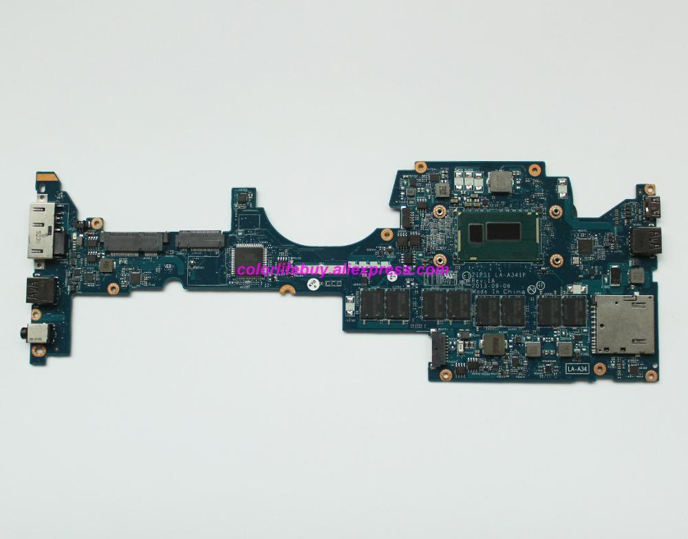 Genuine FRU: 04X6418 w <font><b>I7</b></font>-<font><b>4600U</b></font> CPU ZIPS1 LA-A341P 8G RAM Laptop Motherboard for Lenovo ThinkPad Yoga S1 Notebook PC image