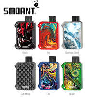 Original Smoant Battlestar Baby Pod Kit with 750mAh Battery & 2ml Pod Electronci cigarette Pod system vs Pal 2 Pro/ Drag Nano