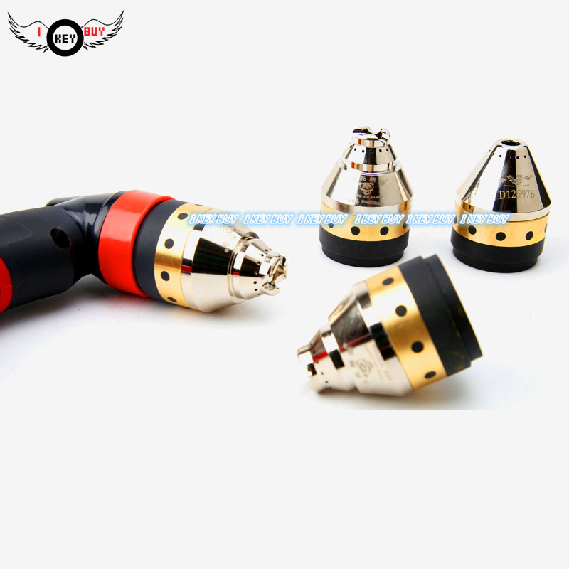 P80 Protective Cover Plasma Torch Cutting Nozzle Protection Sleeve Instead Guide Wheel Ceramic Contact Cutter Protective Cover
