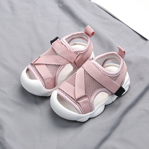 Image 2 - תינוק סנדלי 2020 קיץ חדש לילדים פעוט נעלי בנים ובנות רשת אנטי משחק חוף נעליים