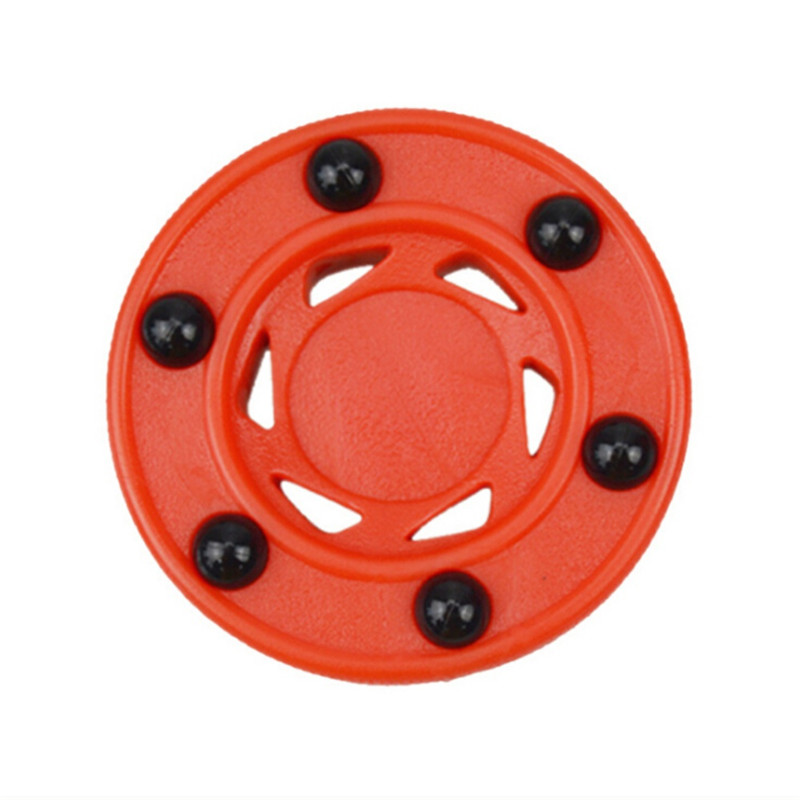 Durable ABS High-density Good Quality Practice Puck Perfectly Balance For Ice Inline Street Roller Hockey Training New
