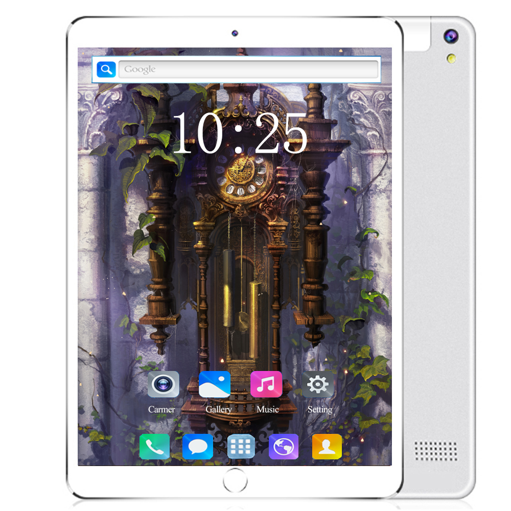 2020 Google Play 6GB RAM 128GB ROM 10.1 Inch Tablet Octa Core Dual SIM Card Youtube  IPS Large Screen Android 8.0 GPS Tablets
