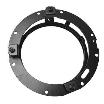 "7"""" Round Headlight Mounting Ring Bracket Adapter Stainless Steel Material Headlight Mount"