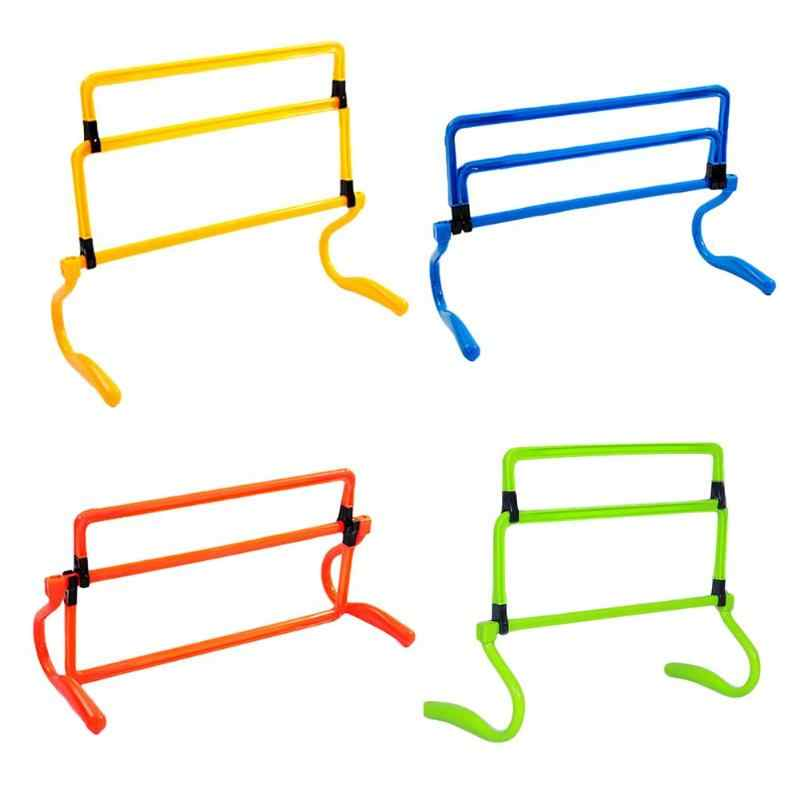 Mini Hurdle Removeable Football Barrier Frame Soccer Training Barrier For Jump Running Sensitive Soccer Speed