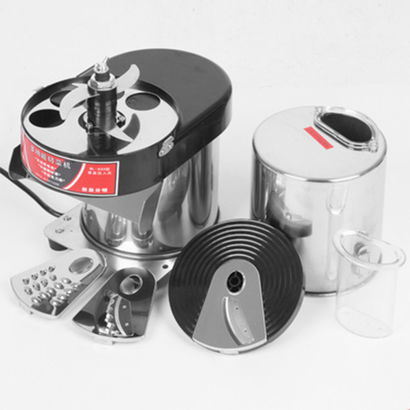 Kitchen Food Processor Multifunction Dicing Machine Cutter Planing Wire Slicer Cutting Device Electric Vegetable Mincer 400W