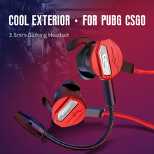 цена на 3.5mm Wired Headphones for PS4 PUBG Gaming Headset Gamer 7.1 Stereo Earphone with Dual Microphone Earphones Earbuds for Xbox