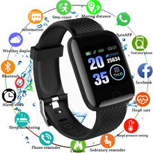 116 Plus Smart Watch Heart Rate Blood Pressure Health Waterp