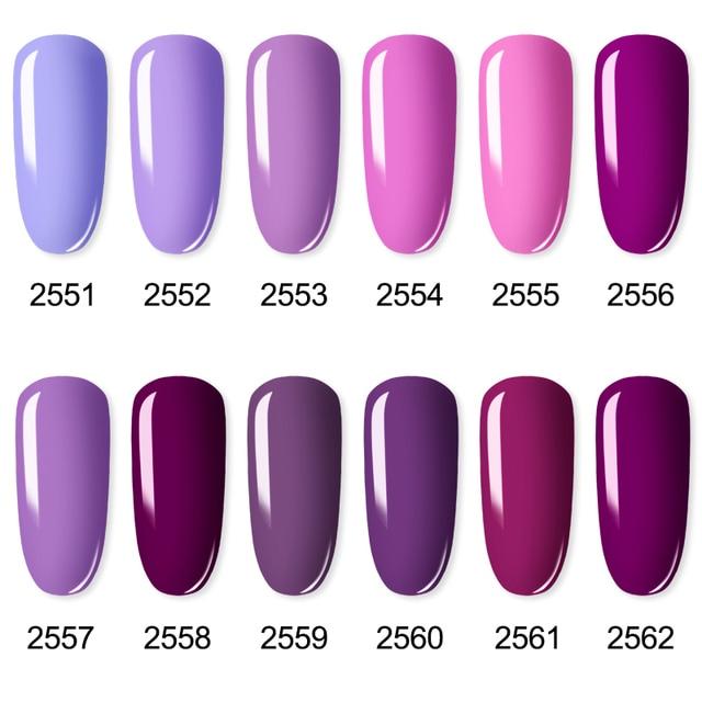 ROSALIND Gel Polish Set UV Vernis Semi Permanent Primer Top Coat 7ML Varnish Gel Nail Art Manicure Gel Lak Polishes Nails 3