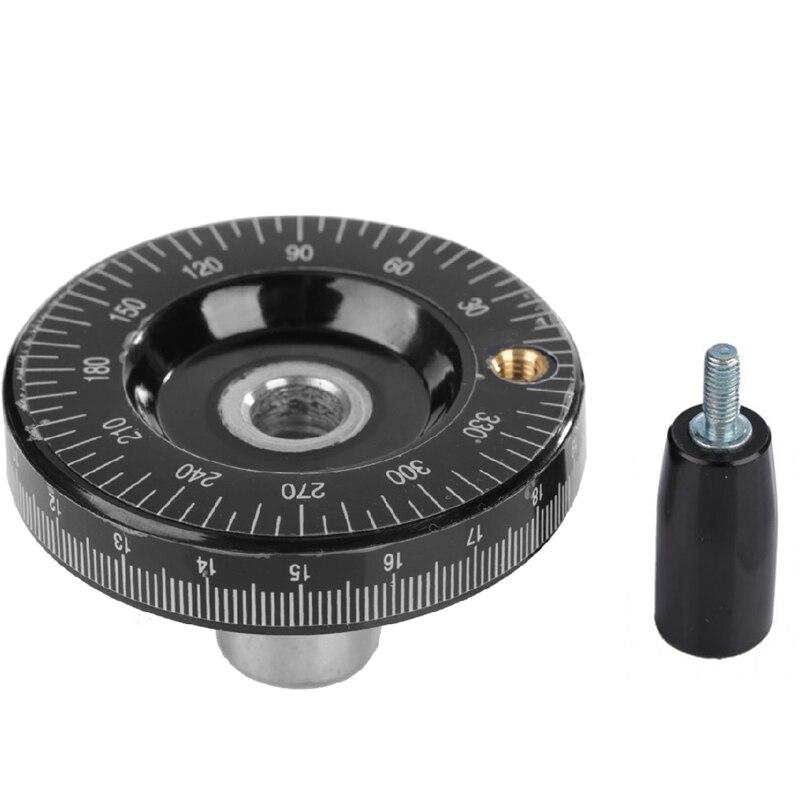 Strong Handwheel Rotating Crank Handle for Lathe Milling Machine Adjustment