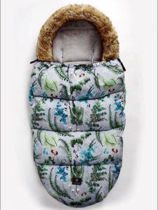 Image 3 - תינוק עגלת שק שינה חורף חם Sleepsack Windproof עבור תינוקות כיסא גלגלים מעטפות Footmuff