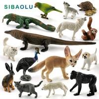 Lézard loup chien chat paresseux perroquet oiseau lapin renard animal modèle figurine décor à la maison miniature fée jardin décoration accessoires Figurines et miniatures Maison & Animalerie -