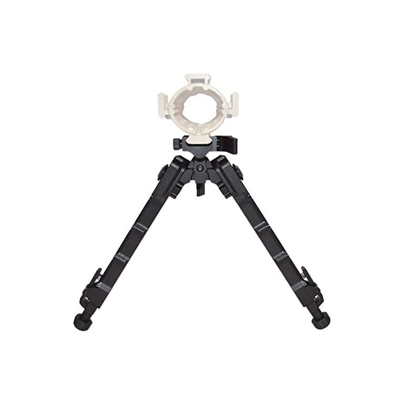 Tactical Rifles Bipod With QD Lever Mount 7.5-9 Inches Flat Adjustable For Hunting And Shooting Picatinny Mount