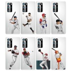 На Алиэкспресс купить чехол для смартфона baseball pattern design mobile cover soft tpu case for huawei p40 pro p30 lite p20 mate30 mate xs