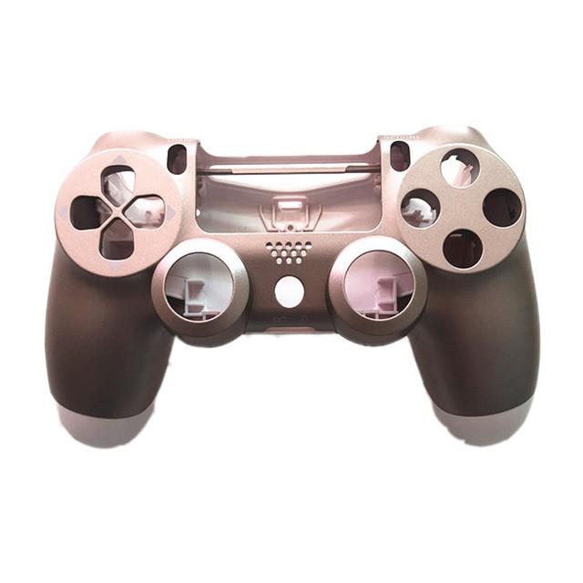 PS4 Pro 4.0 Controller حافظة وردية اللون لينة ملساء غطاء حماية للبلاي ستيشن 4 برو V2 Dualshock 4 برو JDS 040 JDM 040