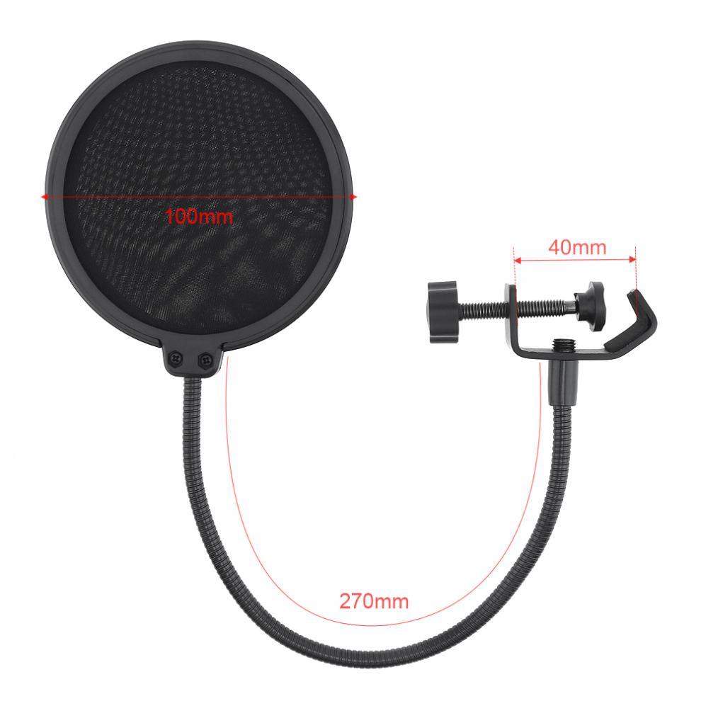 Multifunções suporte de microfone à prova de