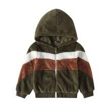Новинка года; детское шерстяное пальто для маленьких мальчиков и девочек теплое зимнее пальто с капюшоном в стиле пэчворк куртка-плащ верхняя одежда с мехом