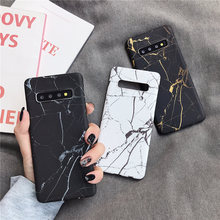 Ultra-thin Marble Phone Cases For Samsung Galaxy S10 S9 S8 Note 10 Plus S10E Note 8 9 S7 Edge Case Hard PC Matte Back Cover shockproof tpu hard pc case for samsung galaxy s10 plus s10e s10 5g s10plus cases dual hybrid back cover with bracket capa