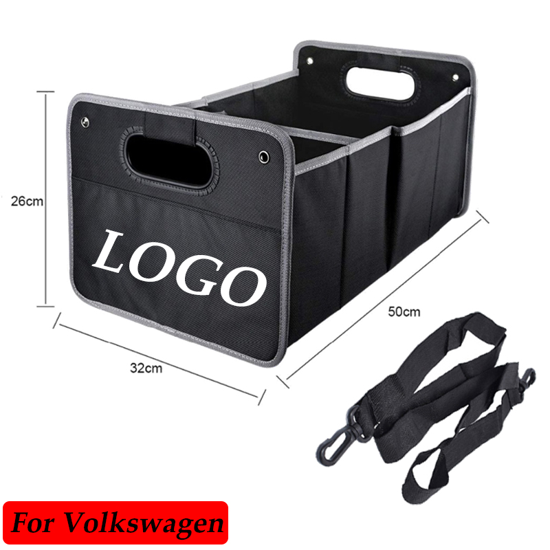 Foldable Car Tools Box Organizers Storage Bags For VW Volkswagen Jetta MK5 MK6 MK7 Golf 5 6 7 Passat B6 B7 CC EOS Touareg
