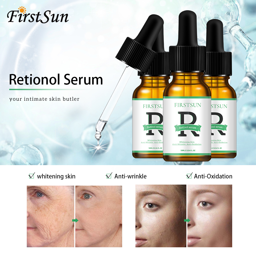 Retinol Vitamin C Serum Moisturizer Face Cream Liquid Skin Anti Wrinkle Aging Serum Face Serum Nourishing Skin Repair Essence
