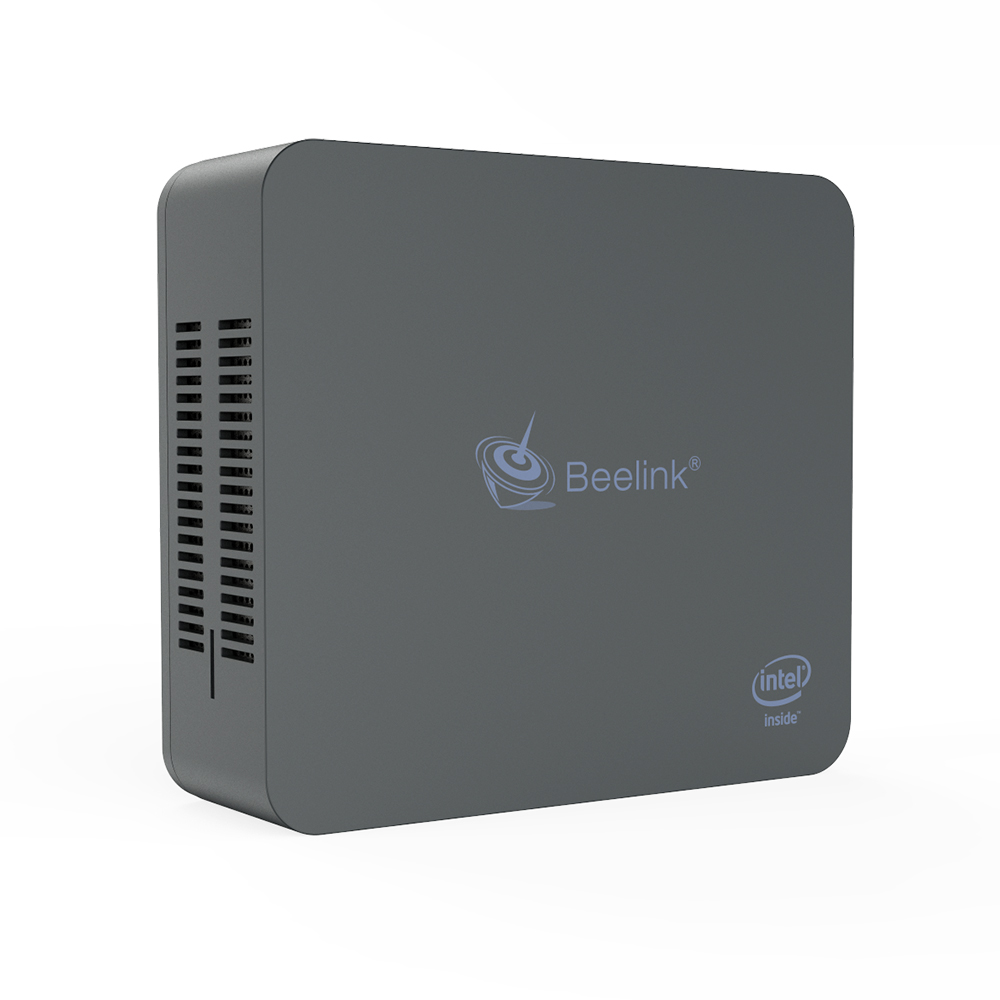Beelink U55 Win10 Mini PC Intel Broadwell I3 5005U Dual Screen Display  Support SSD HDD Gigabit LAN Desktop Windows10 Mini Pc