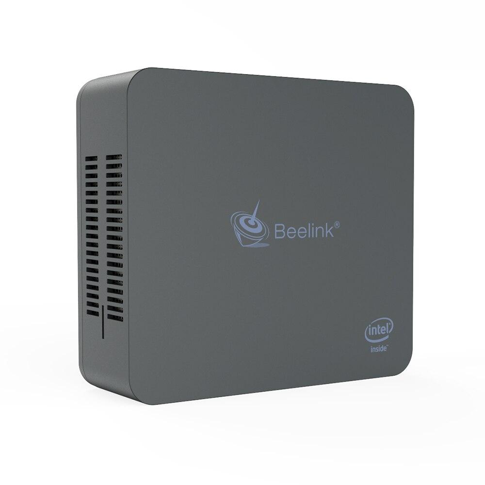 Beelink U55 Win10 Mini PC Intel Broadwell I3 5005U Dual Screen Display  Support SSD HDD Gigabit LAN Desktop Windows10 Mini Pc