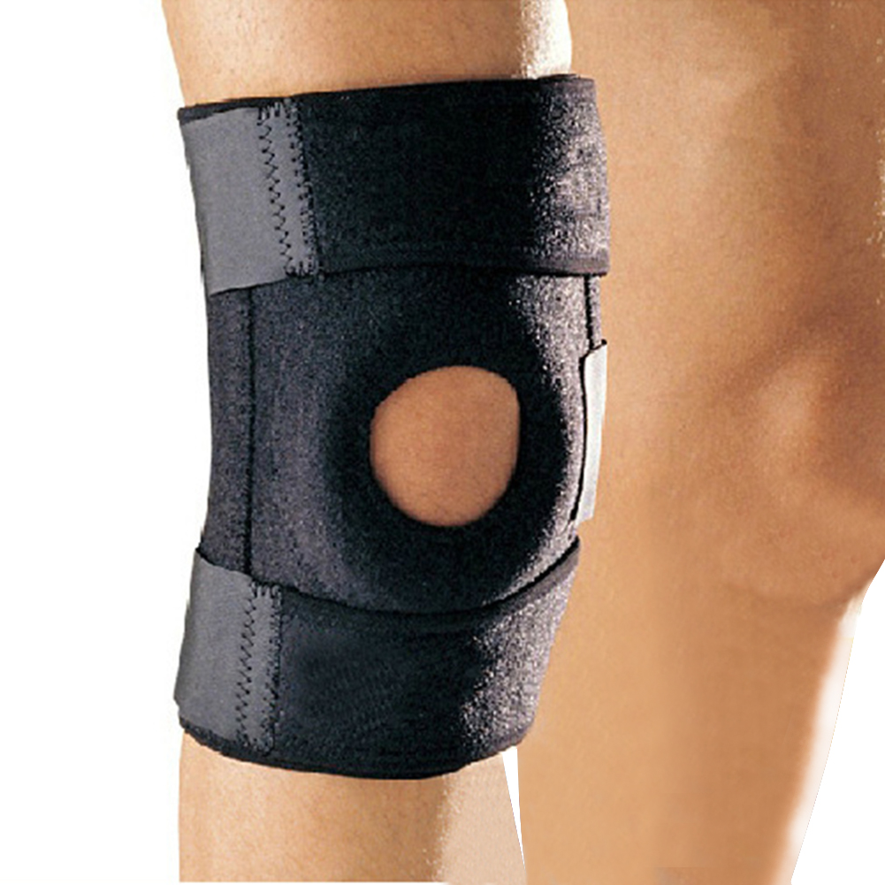 1 Pcs  Knee Support Professional Protective Sports Pad Breathable Bandage Brace Basketball Tennis Cycling