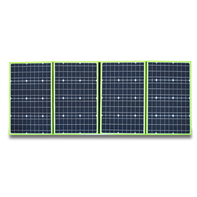 200W Flexible Foldable Solar Panel  + 12V Controller Battery Charger Portable Power Bank for Car Boat Camping Travel Hiking Home 3