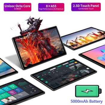 [World Premiere] Perkbox Android 10.0 Tablet 10 Inch, Octa Core CPU, 6GB RAM 64GB ROM, 128GB Expansion, 4G FDD LTE, WiFi, GPS 2